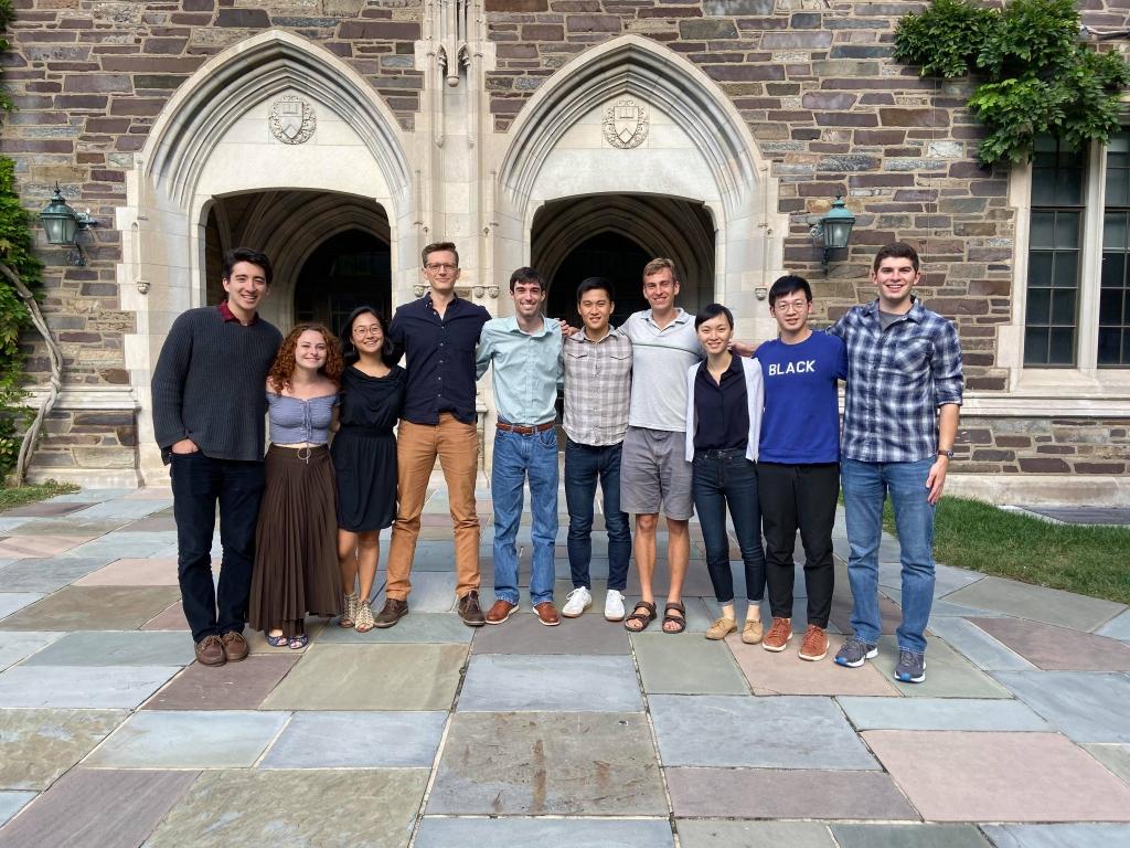 Members of the Princeton Economics Graduate Economics Club